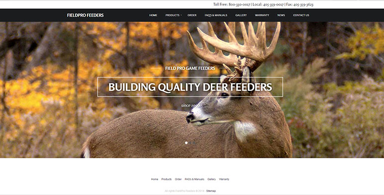 FieldPro Game Feeders